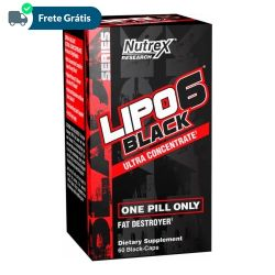 Lipo 6 Black Ultra Concentrate - Nutrex (60 Cápsulas)
