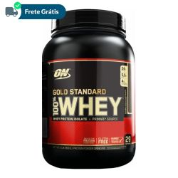 100% Whey Gold Standard - Optimum Nutrition 2lbs (909g)