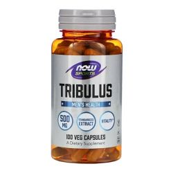 Tribulus Terrestris 500mg - Now Foods (100 Cápsulas)