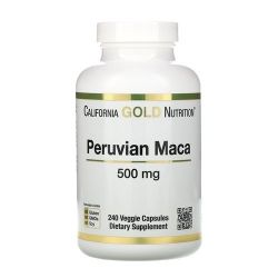 Maca Peruana - California Gold Nutrition (240 Cápsulas)