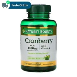 Cranberry 4200mg Com Vitamina C - Nature