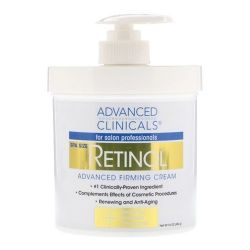 Creme Retinol Advanced Firming - Advanced Clinicals (454g)