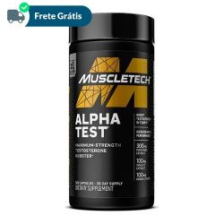 Alpha Test  - Muscletech (120 Cápsulas)